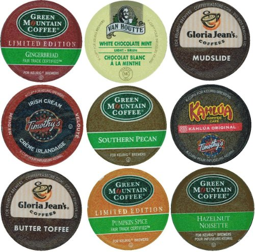 green mountain pumpkin spice k cup for 18 pack limited edition holiday flavors coffee variety pack of kcups for keurig brewers butter toffee