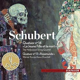 """Schubert: Quatuor No. 14 """"La Jeune Fille et la mort"""" & Quatuor No. 13 """"Rosamunde""""�(Les indispensables de Diapason)"""
