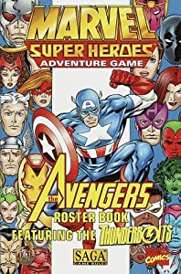 The Avengers Roster Book (Marvel Super Heroes/SAGA): Tsr, Michele