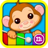 Abby Monkey� Kids Musical Puzzle Interactive Learning Game: Play & Sing Songs (Old MacDonald, Bingo, Five Little Monkeys, Twinkle, Twinkle Little Star) and Learn Music with Toy Animal Piano for Baby, Toddler, Preschool, and Kindergarten Explorers
