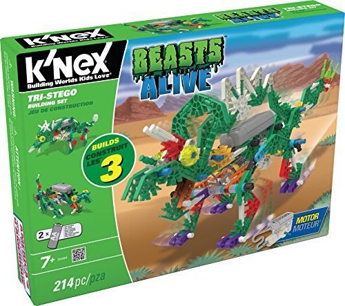 K'NEX Beasts Alive - Tri-Stego Building Set (Tri Energy compare prices)