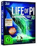 Image de BluRay Life of Pi - Schiffbruch mit Tiger (3D Vers.) [Blu-ray] [Import allemand]