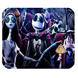 Mystic Zone The Nightmare before Christmas Jack Skellington Rectangle Mouse Pad (Black) - MZM00095