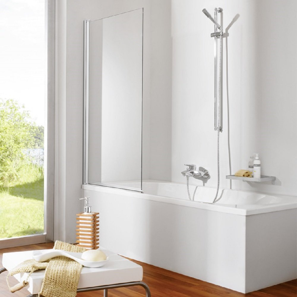 90 x 140 cm Badewannen Faltwand Duschwand Duschabtrennung Glas   Lotus Effekt  BaumarktKundenbewertung und weitere Informationen