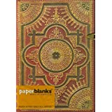 "Paperblanks ""Ventaglio Rosso"" Hardcover Sketch Journal, Blank/Unlined Paper (5"" X 7"")"