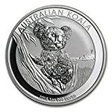コアラ銀貨 1オンス 2015年製 クリアケース入り オーストラリアパース造幣局発行 31.1gの純銀 高純度 シルバー コイン 保証書付き