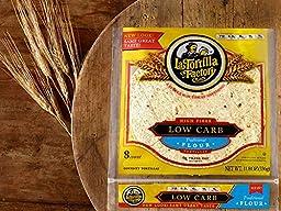 La Tortilla Factory Low Carb, High Fiber Tortillas Traditional Flour, 11.8 oz