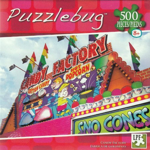 Puzzlebug 500 Pieces Candy Factory