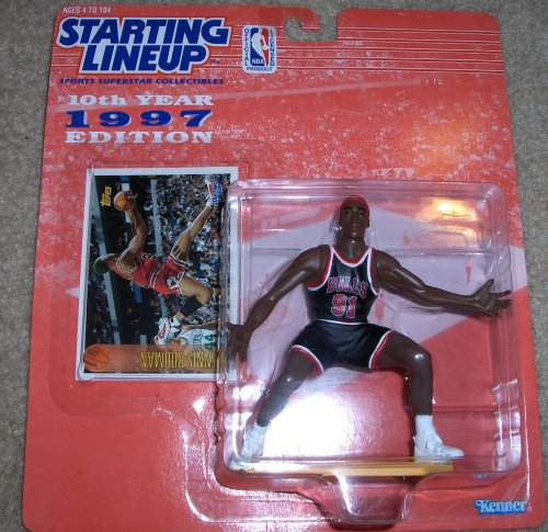 1997 Dennis Rodman NBA Starting Lineup Figure - 1