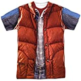 Back to the Future - Mcfly Vest (Front/Back Print) T-Shirt Size XL
