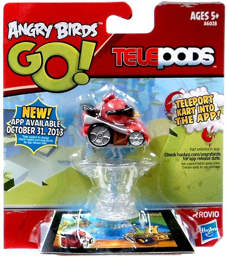 Angry Birds GO! Telepods Red Bird Kart - 1