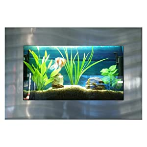 Best wall mounted fish tanks in 2018 reviews fish tank for Amazon fish tanks for sale