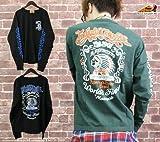 (インディアンモトサイクルカンパニー)Indian Motocycle Company バックプリントインディアンロゴ長袖Tシャツ(imlt-209)