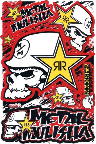 Metal Mulisha Bow Window Decal Sticker