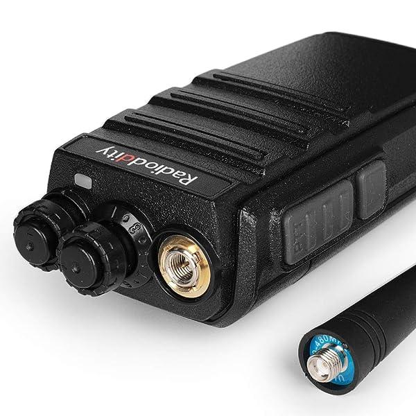 4X RADIODDITY GA-2S UHF 16CH VOX RADIO BIDIRECCIONAL AURICULARES 1 CABLE DE PROGRAMACIÓN