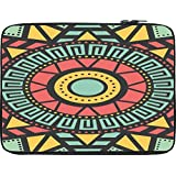 Snoogg AZTEC TARGET VISION 12 To 12.6 Inch Laptop Netbook Notebook Slipcase Sleeve
