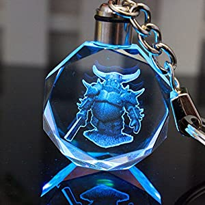 Amazon.com: Clash of Clans LED Crystal Keychain Perfect Gift for Clan