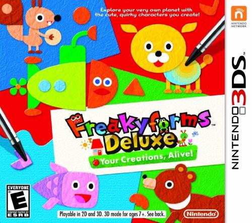 Freakyforms Deluxe:  Your Creations, Alive! - Nintendo 3DS - 1