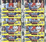 2014/2015 Topps Match Attax Premier League Soccer lot of TEN Factory Sealed Foil Packs ! Includes 50 Cards of all the Top Stars of Barclays Premier League! Imported from England! Brand New! Hot!