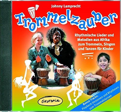 Trommelzauber-Doppel-CD-Rhythmische-Lieder-und-Melodien-aus-Afrika-zum-Trommeln-Singen-und-Tanzen-fr-Kinder-kotopia-Mit-Spiel-Lieder
