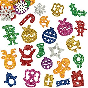 festive cards crafts pack of 120 amazon co uk toys amp games