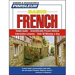 French, Basic: Learn to Speak and Understand French with Pimsleur Language Programs (Simon & Schuster's Pimsleur)