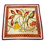 OONA Cotton Cushion Cover - Cotton Cushion Cover - Red Mughal