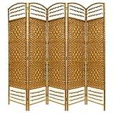 Hartleys Separé naturale realizzato artigianalmente a 5 pannelli
