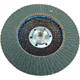 "Easy Abrasives LLC 30656 EZDisc Type 29 Zirconia Alumina Flap Discs, VSM713, 72-Piece, 4 1/2"" Diameter,  5/8""-11 Arbor, 80 Grit (Pack of 5)"