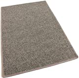 3'X5' - ROCK-BROWN-MULTI - Indoor/Outdoor Area Rug Carpet, Runners & Stair Treads with a Non-Skid Marine backing and Premium Nylon Fabric FINISHED EDGES . Olefin , 3/16