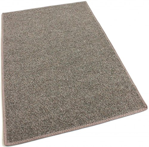3 X5 ROCK BROWN MULTI Indoor Outdoor Area Rug Carpet