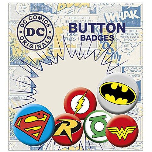 DC Comics Spille A Bottone