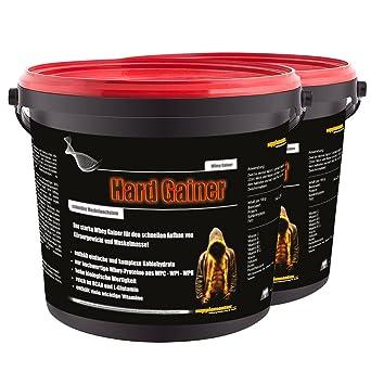 NEU! Hard Gainer Toffee 2x3000g - Extreme Whey Gainer Wettkampfprotein Kohlenhydrate Eiweiß Masse und extremer Muskelaufbau