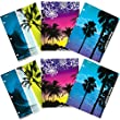 Mead Trapper Keeper 2-Pocket Folders, Fun in the Sun , Assorted Designs, 6 Pack (73453)
