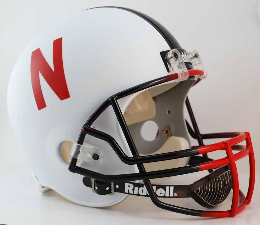 Nebraska Cornhuskers Full Size Replica Football Helmet by Riddell литой диск replica legeartis concept ns512 6 5x16 5x114 3 et40 d66 1 bkf