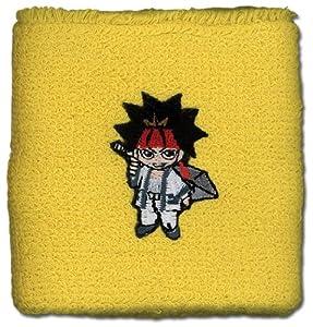 Rurouni Kenshin: Sanosuke Yellow Wristband