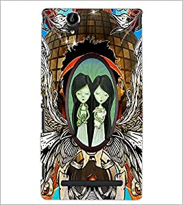 PrintDhaba Quote D-2863 Back Case Cover for SONY XPERIA T2 ULTRA (Multi-Coloured)