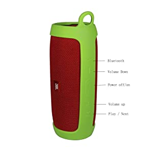 Sling Blue Travel Carrying Protective Carry Cover Case Bag for JBL Charge 3 Bluetooth Speaker