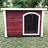Petsfit 44.1 X 30.5 X 31.7 Inches Dog House, Dog House Outdoor