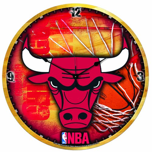 NBA Chicago Bulls 18-Inch High Definition Clock at Amazon.com