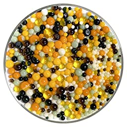 Pumpkin Patch Designer Mix Frit Balls - 90COE - Made from Bullseye Glass