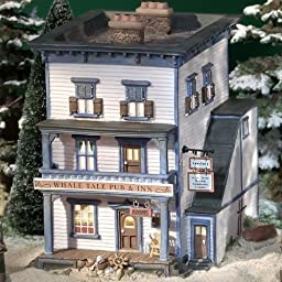 Dept. 56 New England Village Whale Tale Pub & Inn