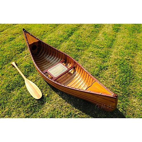 Decor Boats / Canoes - K037 - 6 Feet Canoe With Ribs K037