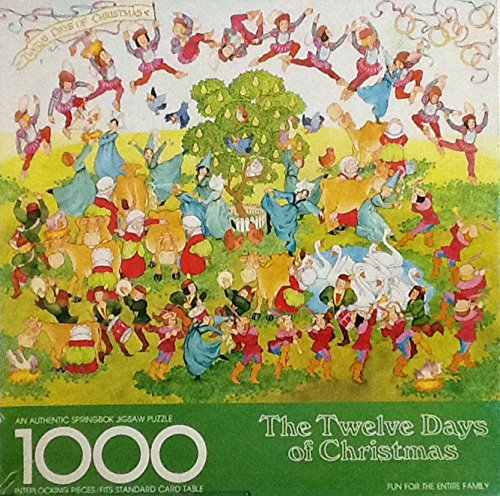 12 Days of Christmas Jigsaw Puzzle - 1000 Piece Collectible Puzzle