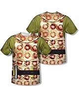 Star Trek 1960's Sci-Fi Action TV Series Gorn Shirt Youth 2-Sided Print T-Shirt
