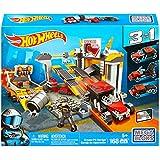 Mega Bloks Hot Wheels Grease Pit Garage Playset