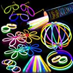 100 Glow Stick Party Pack - 100 Mixed...