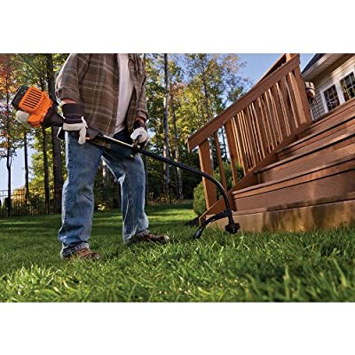 Remington 41BD110G983 Rustler 17-Inch 25cc 2-Cycle Curved Shaft Gas Trimmer with QuickStart Technology
