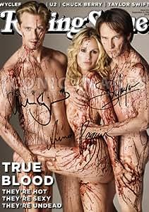 True Blood Tv Print (11.7 X 8.3) Stephen Moyer Anna Paquin Alexander Skarsgard