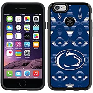 Coveroo CandyShell Case for iPhone 6 - Retail Packaging - Black/Penn State Tribal Design